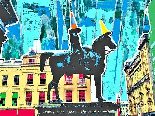 Paints Pylons | Duke of Wellington Statue, Glasgow