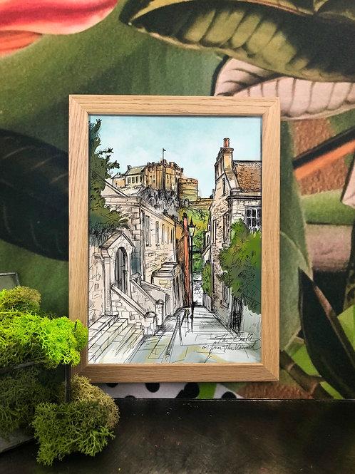 Diedododa | Edinburgh Scenes A3 Prints