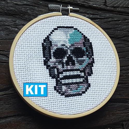 Son of a Cross Stitch | Skull Cross Stitch Kit