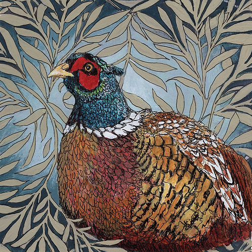Between the Woods and Sea   Pheasant Print