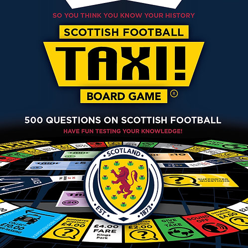 Taxi Board Game | Scottish Football Taxi Board Game