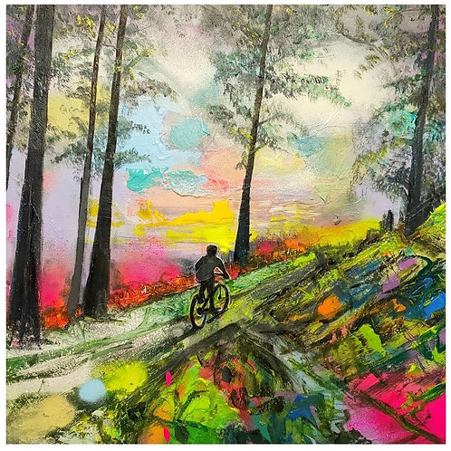 "Kris McKinnon   ""Glentress 3"" Print"