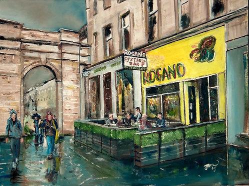 "Joe McNichol | ""Rogano"" A3 Giclée Print"
