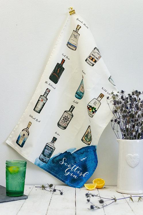 Sarah Leask | Scottish Gin Tea Towel