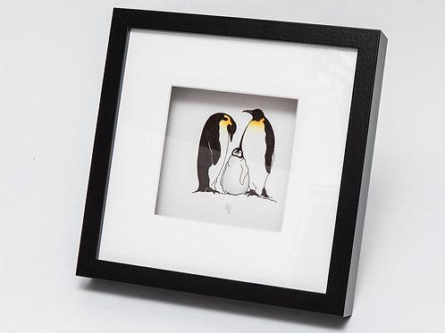 Jenny Haslimeier | Emperor Penguin Family Print