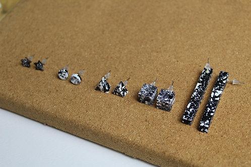 Jennifer Lemon Designs | SPLASH Hand Painted Earrings