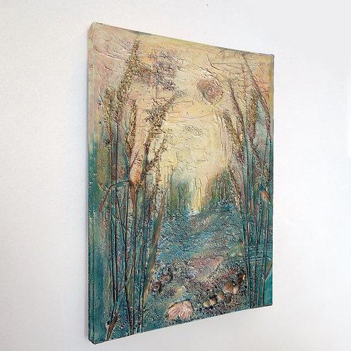 Scottish Island Art | Micro-World Canvas