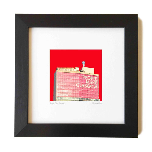 Stephen O'Neil Art | People Make Glasgow Print