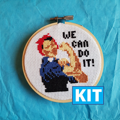 Son of a Cross Stitch | We Can Do It Cross Stitch Kit