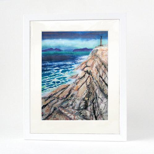 Scottish Island Art | Ardnamurchan Lighthouse Print