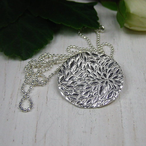 Silver Sparrow Jewellery | Petals Pendant & Earrings
