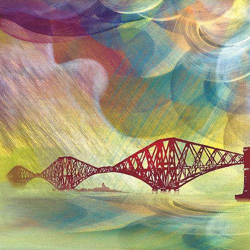 Esther Cohen   Tartan Skies Over Forth Bridge