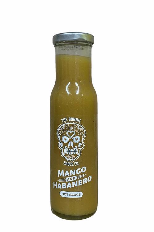 Bonnie Sauce Company   Mango and Habanero sauce 250ml