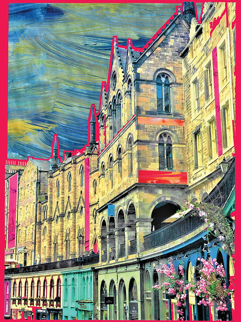 Paints Pylons | Victoria Street