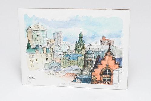 Frank Boyle | Glasgow Skyline Print