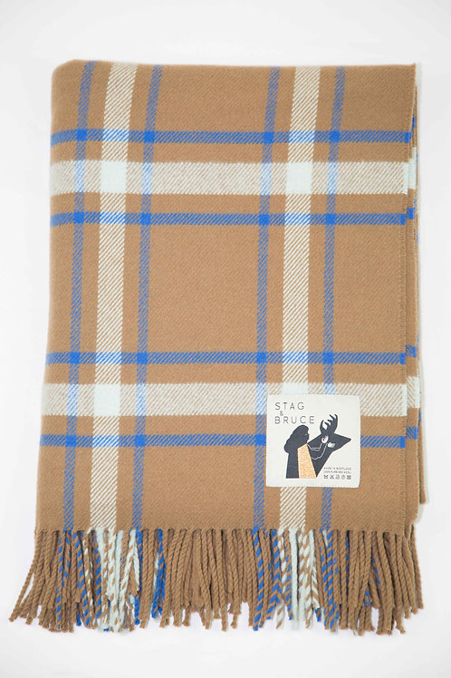 Stag & Bruce | Affric Lambswool Throw