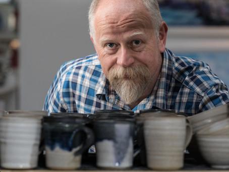 Meet Artist Ian Henderson, a Lecturer turned Ceramicist