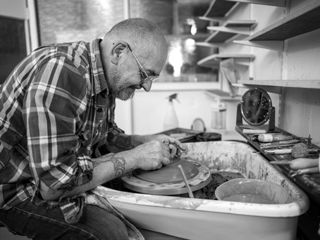 The Potter of Leith, a social enterprise which offers free workshops to aid mental health issues.