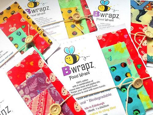 Bwrapz | Pack of 3