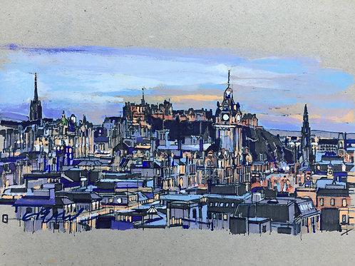 Erik Petrie | Edinburgh Skyline from Calton Hill