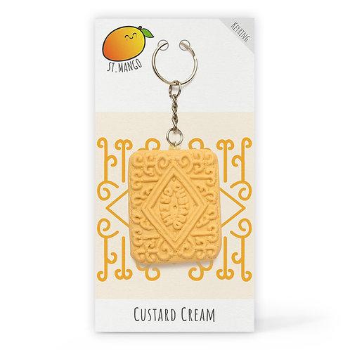 St.Mango | Custard Cream Keyring