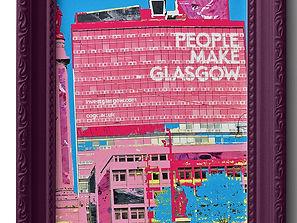 Paints Pylons People Make Glasgow
