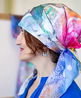 Gayane Khachatryan - My works exist as in painting as well as on fabric, thus the name WearableArt