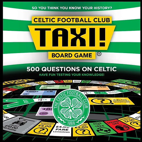 Taxi Board Game | Celtic FC Taxi Board Game