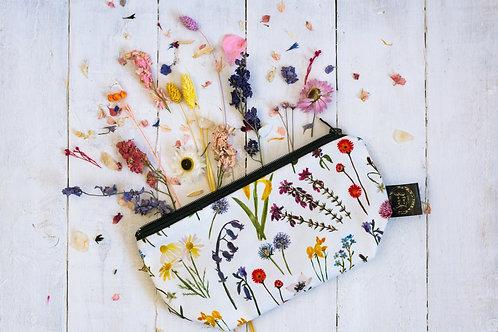 Sarah Leask | Wildflowers/Garnish Cosmetic Bag