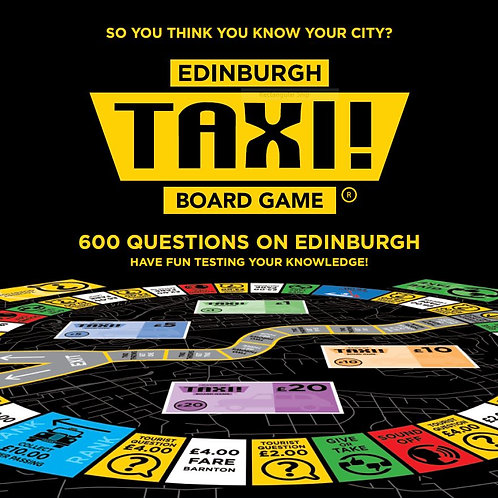 Taxi Board Game | Edinburgh Taxi Board Game