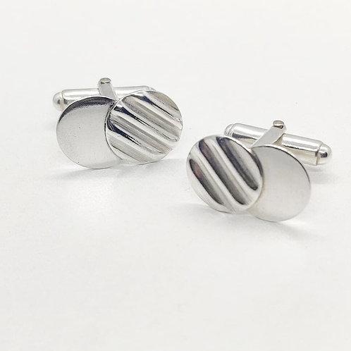Iona Lundie Designs| Corrugated Silver Jewellery