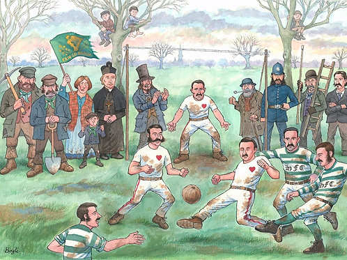 Frank Boyle | Edinburgh football derby 1875