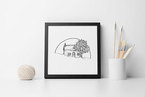 "Ccorinnef | 6 x 6"" Framed Print"