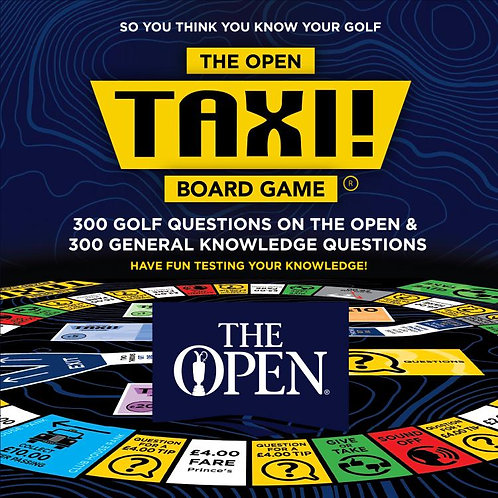 Taxi Board Game | The Open Golf Edition