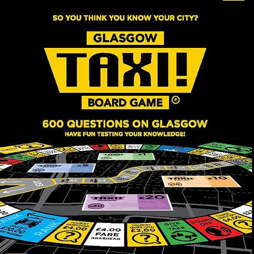 Taxi Board Game | Glasgow Taxi Board Game