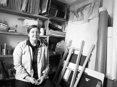 Shortlisted Artist for The Derwent and Jerwood Drawing prize, meet Edinburgh Illustrations!