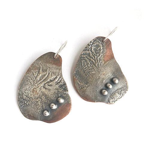 aneta.bp | Handmade earrings with 3 dots
