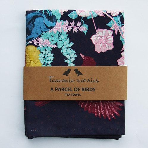 Tammie Norries | A Parcel of Birds Tea Towel
