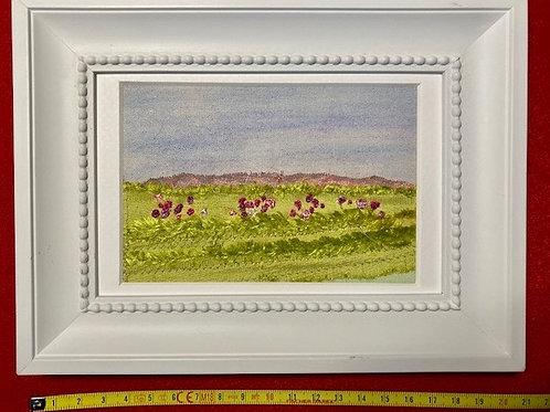 Stitch Impressions | Country Landscape | Hand &Machine Stitched Picture