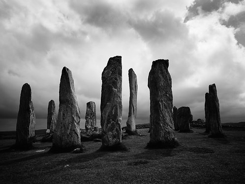 Alan Black | Callanish Stones, Scotland 11x14""
