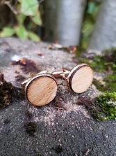 Copper Cufflinks Reza Wood.jpg