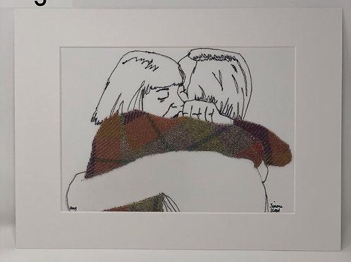 Simone Wood   Hug Giclee Print