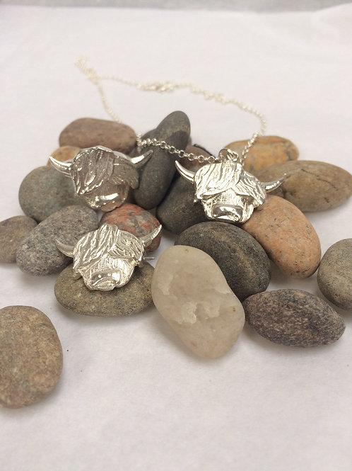 BU Jewellery | Wee Harris Sterling Silver Pendant or Brooch