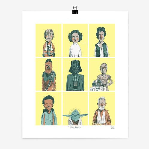 Alexander Jackson | Star Wars Print