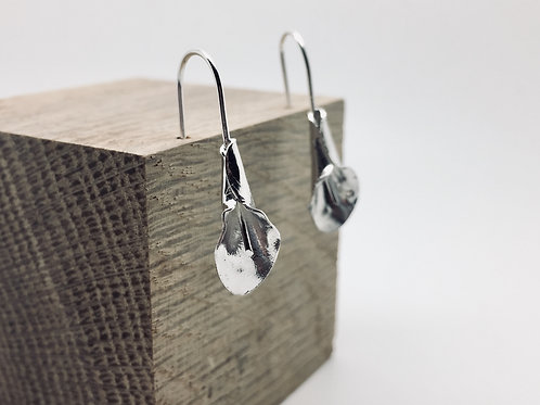 Silbr (Lesley Brown) | Calla Lily Earrings (Studs or Dangles)