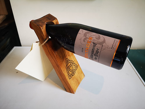 Greater Good Wood | Whisky Wood Bottle Balance