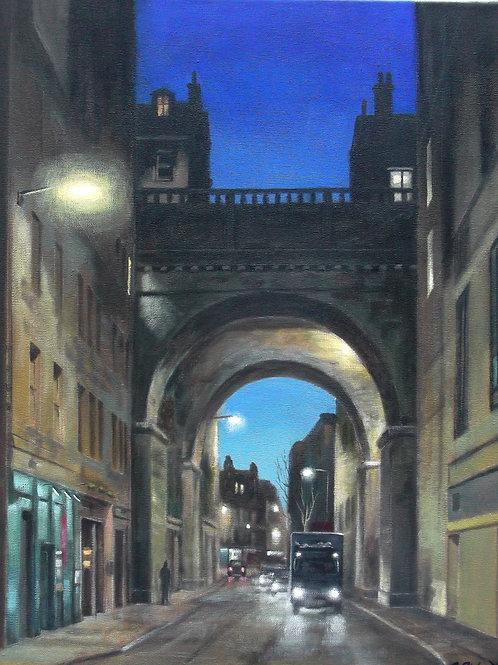 David Richardson Artwork |Cowgate, Edinburgh Print