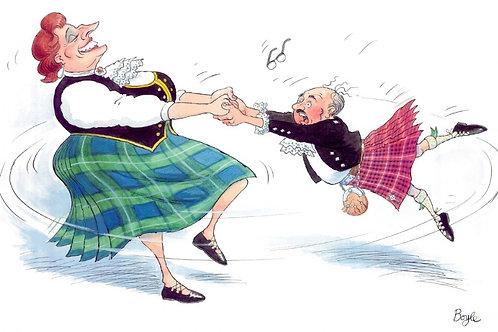 Highland Fling T-Towel