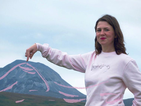 Gini Dickinson - My creations are eco-friendly and feminist.