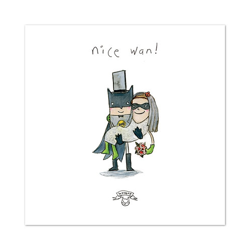 "The Grey Earl | ""Nice Wan!"" Digital Print"
